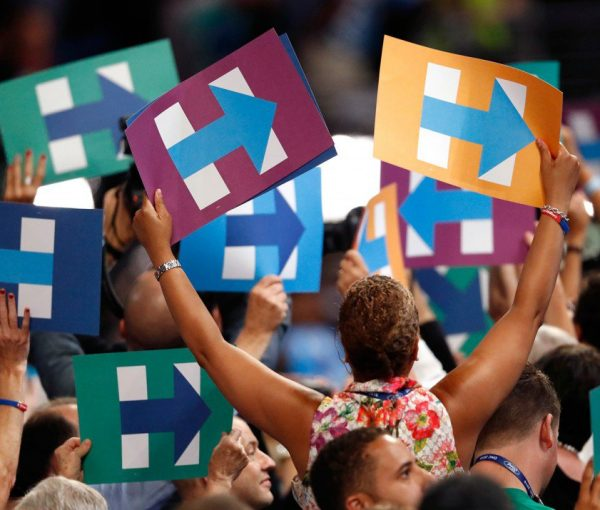 #DemsInPhilly:  Trust in Household Names, Celebrity Donkeys, Journalists, Michelle Obama, Women and Bill
