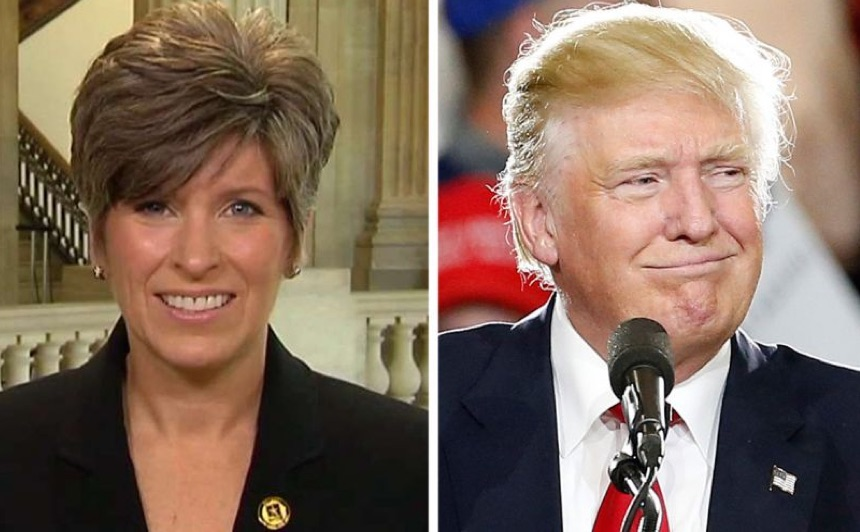 Is Iowa's Senator Joni Ernst in the Running for Donald Trump's VP?