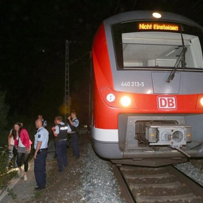 "New Normal? Afghan Refugee Yelling ""Allahu Akbar"" Attacks Dozens on Train in Germany"