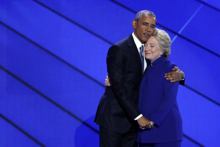 #DemsInPhilly: Obama and Clinton Trumped