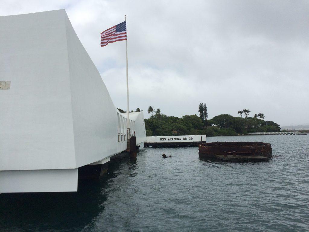 USS Arizona Memorial on July 3, 2016