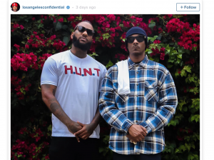 The Game and Snoop Dogg did a good thing in LA by reaching out to both sides.