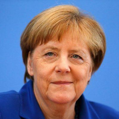 German Chancellor Angela Merkel: Europe