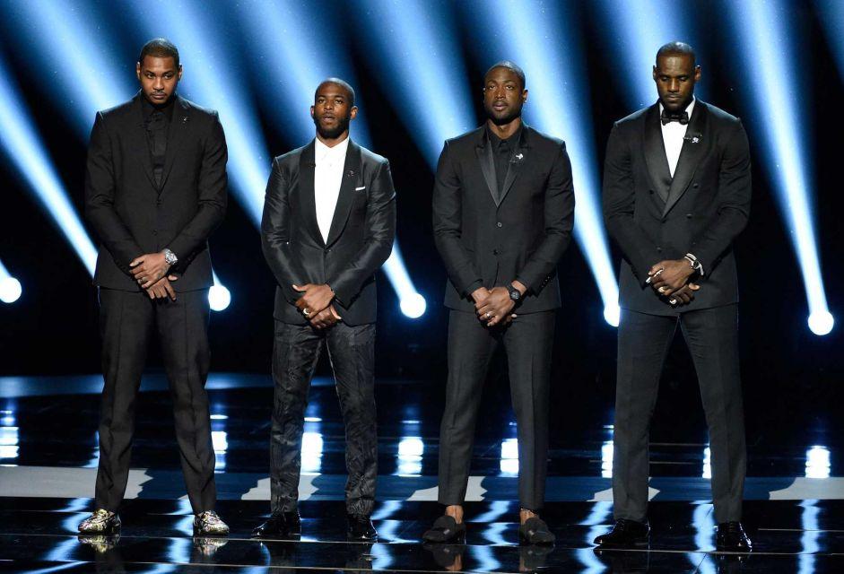 ESPY'S 2016 Go Black Lives Matter [Video]