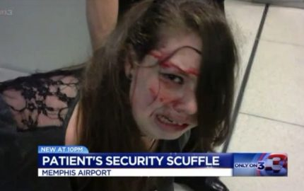 Your Tax Dollars at Work: TSA Bloodies a Teenage Girl with Brain Tumor [VIDEO]