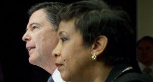 FBI Director James Comey and Attorney General Loretta Lynch