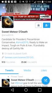 Sweet Meteor of Death