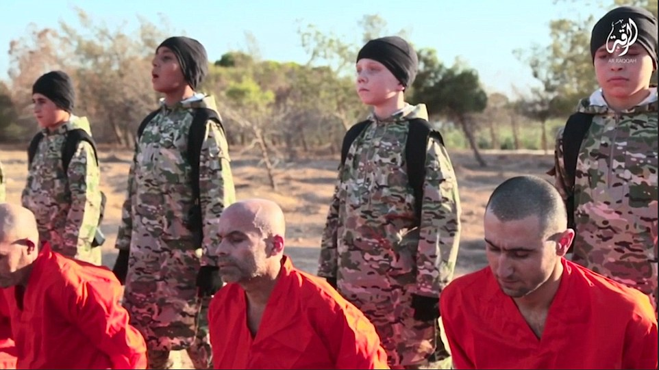 """""""Cubs Of The Caliphate"""" #ISIS Using Pre-Teens To Murder Prisoners [VIDEO]"""