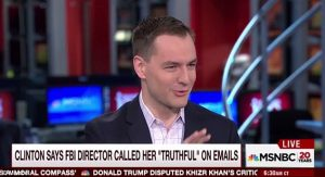 Clinton Campaign manager, Robby Mook spinning her take on the emails on CNN