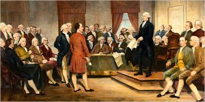 Founding Fathers at the Constitutional Convention