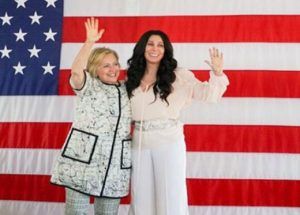Hillary and Cher