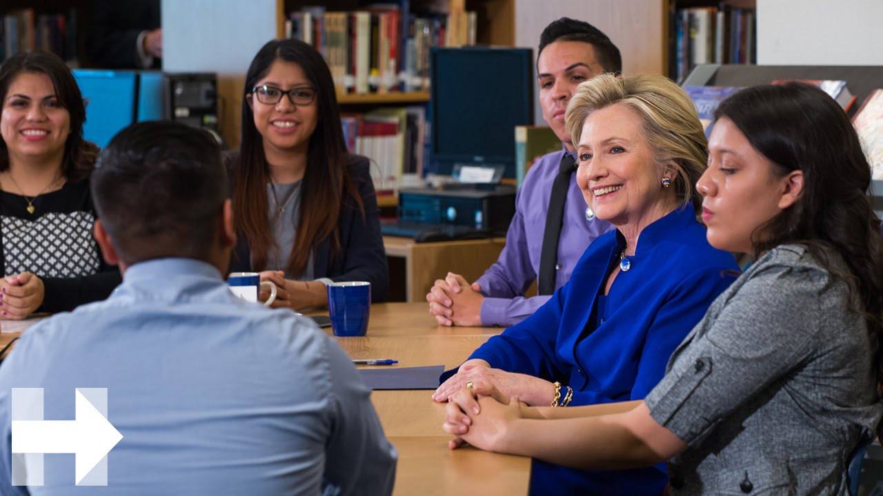 """Mi Sueno, Tu Voto"": Hillary Clinton Panders to Hispanic Voters By Channeling The DREAMer Voice"