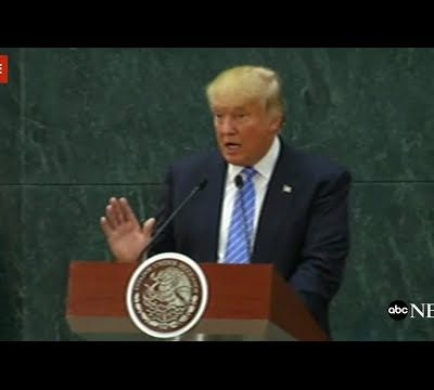 Trump Visits Mexico, Nails Press Conference With Solid Message [VIDEO]