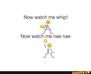 Whip and Nae Nae.