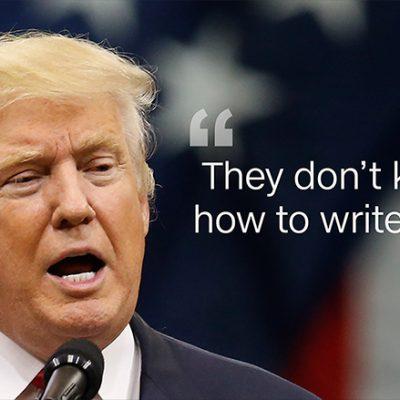 The New York Times Versus Donald Trump