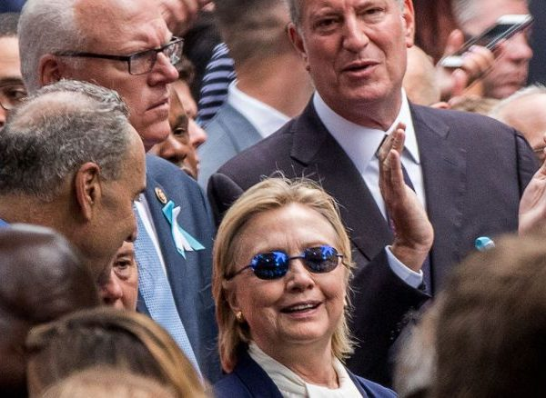 Hillary Clinton Suffers Medical Episode At 9/11 Service, Health Now Major Campaign Issue [VIDEOS]