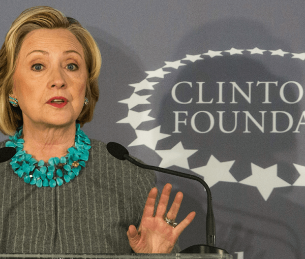 In 2014, the Clinton Foundation spent less than 5.7% of budget on charitable grants [video]