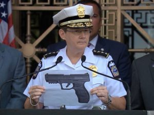 Columbus OH Police Chief Kim Jacobs