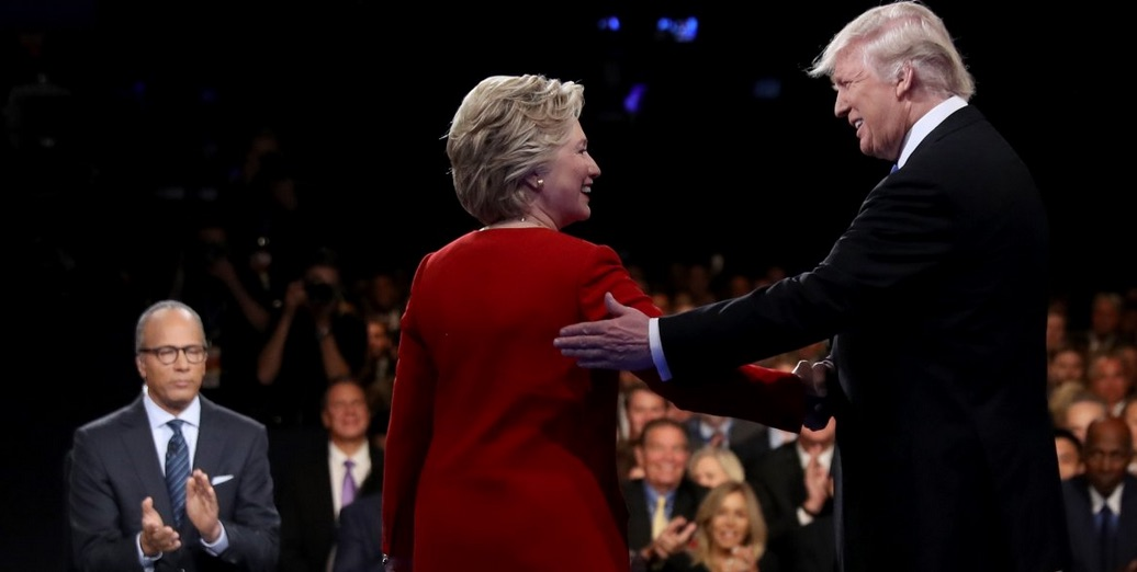 Clinton-Trump Debate Number One. (Photo Credit: Business Insider)