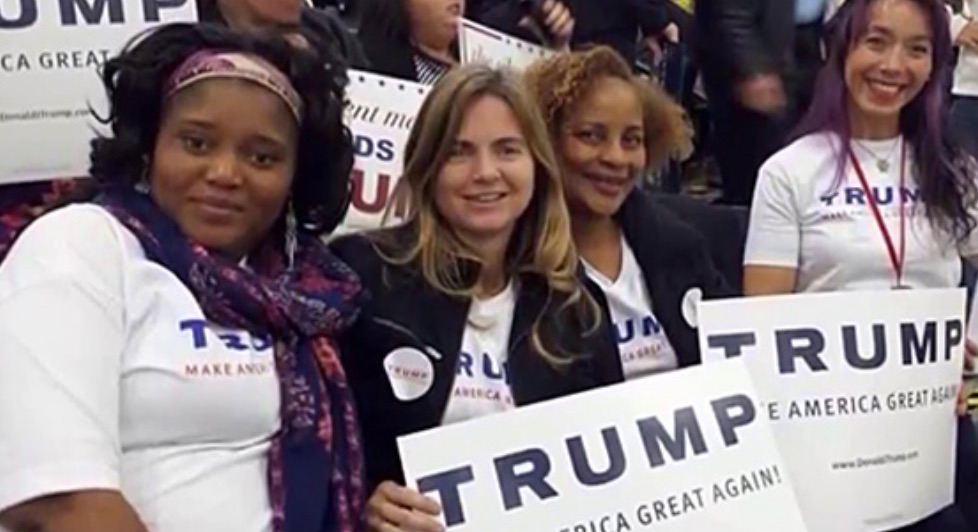 Some of the deplorables supporting Trump. (Photo: CNN)