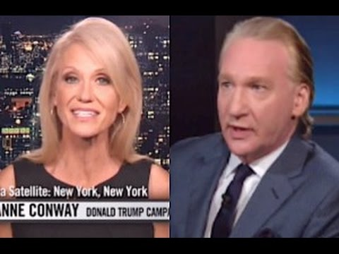 "Bill Maher to Kellyanne Conway: ""You're Enabling Pure Evil"""