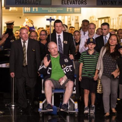 NYPD Detective Attacked Thursday By Cleaver Wielding Palestinian Released From Hospital [VIDEO]