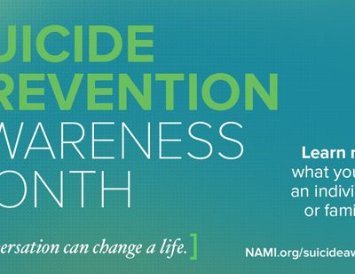 Suicide Prevention:  we can say something and see something
