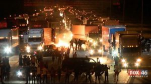 Protesters Shut Down I 85 in Charlotte NC