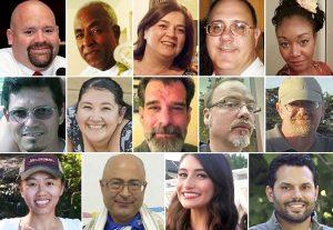 The twenty four people killed on that fateful winter day in San Bernardino