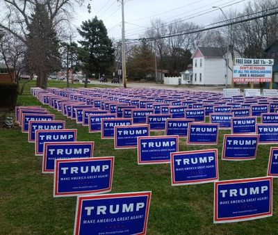Triggered By Trump Signs: The