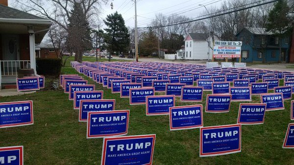 """Triggered By Trump Signs: The """"Courageous"""" Tale of a Hillary Supporter"""