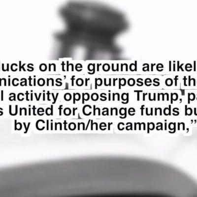 #Veritas: 3rd O'Keefe Vid Shows Dem Ops Implicating Hillary Clinton, DNC in FEC Violations [VIDEO]