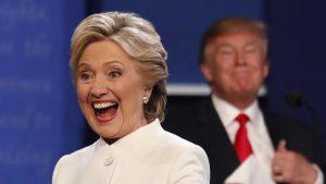 Hillary Clinton's Gaping Maw