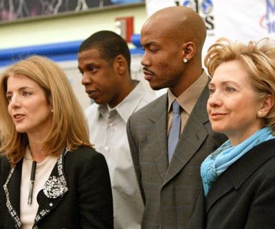 Hillary Clinton, Jay Z and LeBron James