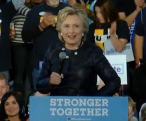 Hillary  Clinton in Pueblo, Colorado