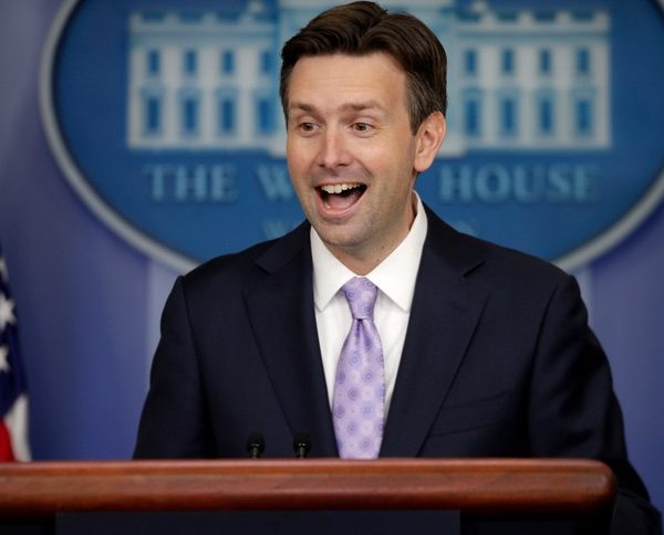 Takin' the High Road: WH Mouthpiece Josh Earnest Jokes That Trump's a Coke User [VIDEO]