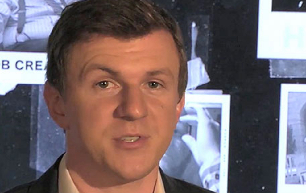 Project Veritas' James O'Keefe, narrating his Hillary Clinton undercover video series. (Photo Credit: Screen Shot)