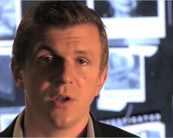 James O'Keefe, discussing his Clinton video series. (Photo Credit: Screen Shot)