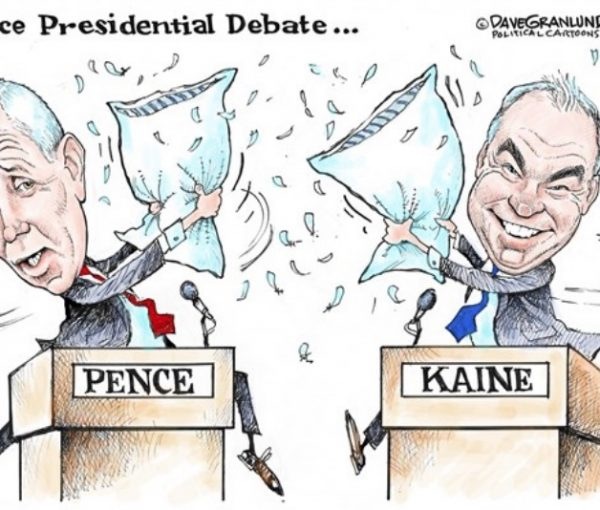 #VPDebate: Watch Mike Pence and Tim Kaine Collide Tuesday Night [LIVE VIDEO]
