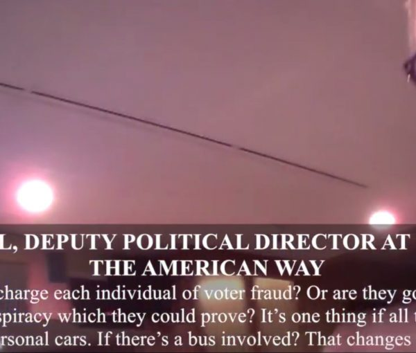 #Veritas: 2nd O'Keefe Video Shows Clinton Ops Describing How to Commit Mass Voter Fraud [VIDEO]