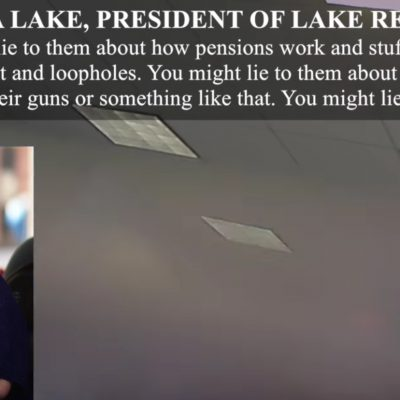 #Veritas: O'Keefe Vid Shows Dem Pollster Celinda Lake Encouraging Unions to Lie to Voters [VIDEO]