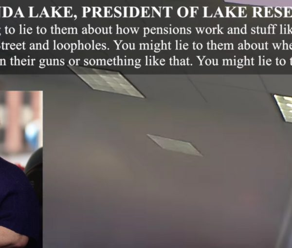 #Veritas: O'Keefe Vid Shows Dem Pollster Celinda Lake Encouraging Unions to Lie to Voters [VIDEO]