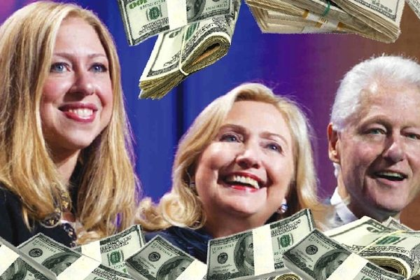 "WikiLeaks Reveals ""Bill Clinton Inc"" and More Fun with Clinton Pay for Play [VIDEO]"