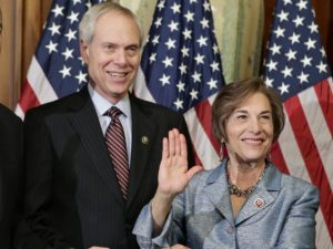 Connected Couple- Robert Creamer and his bride Ill. Rep. Jan Schakowsky