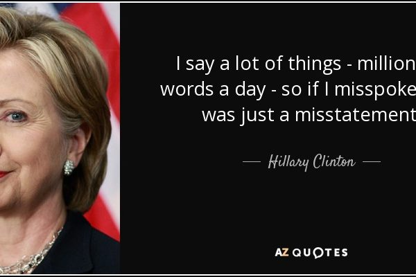 Leaked Audio: Hillary Clinton Panders