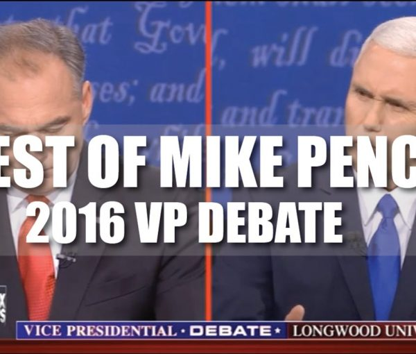 When Voting, Why Not Write In Mike Pence? [VIDEO]