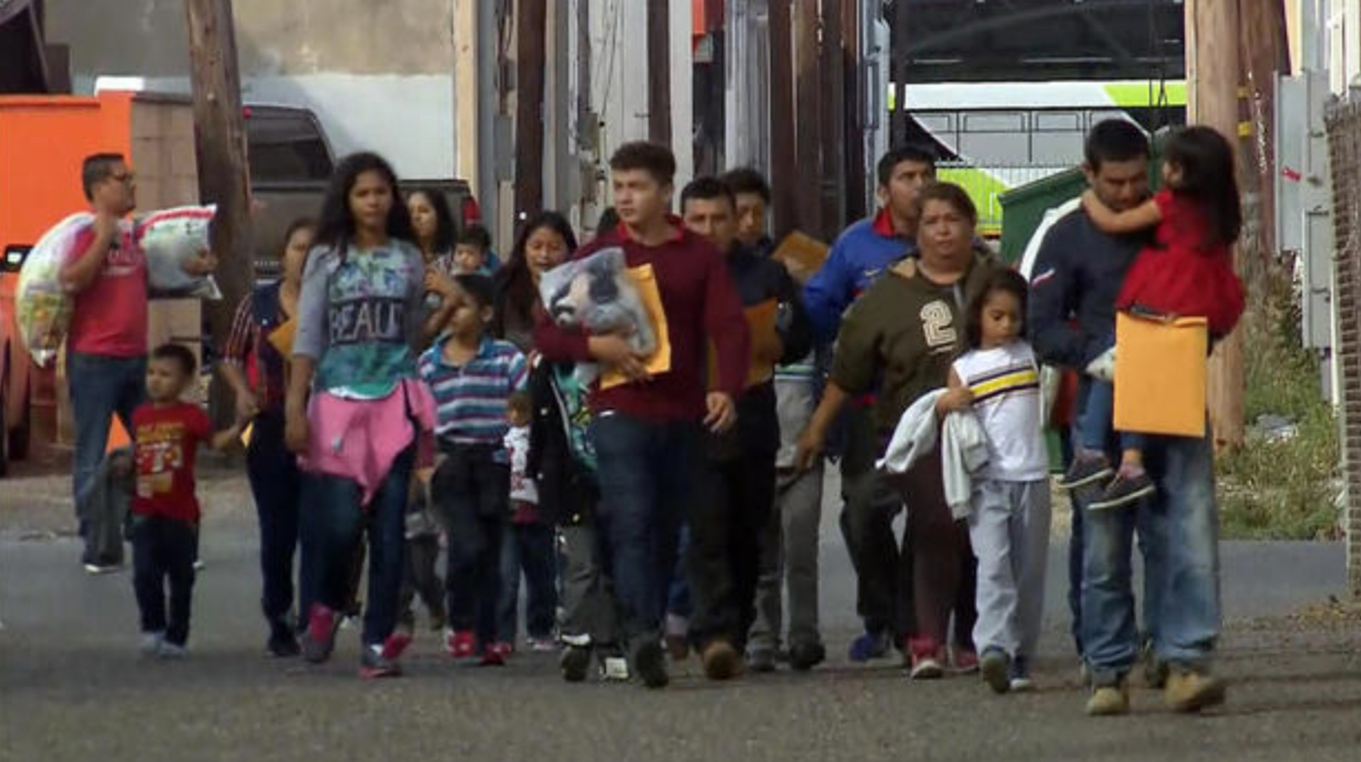 Illegal alien border crossings have increased more than fifty percent (Photo Credit: CBS News)