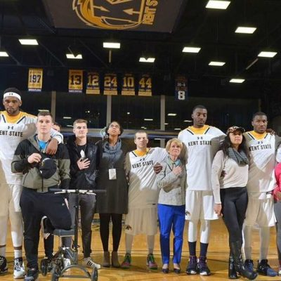 Kent State Basketball's Powerful Answer To National Anthem Protests Is Unity [VIDEO]