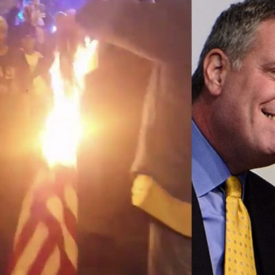 Trump Tantrum: New York's Mayor Bill de Blasio Encourages More