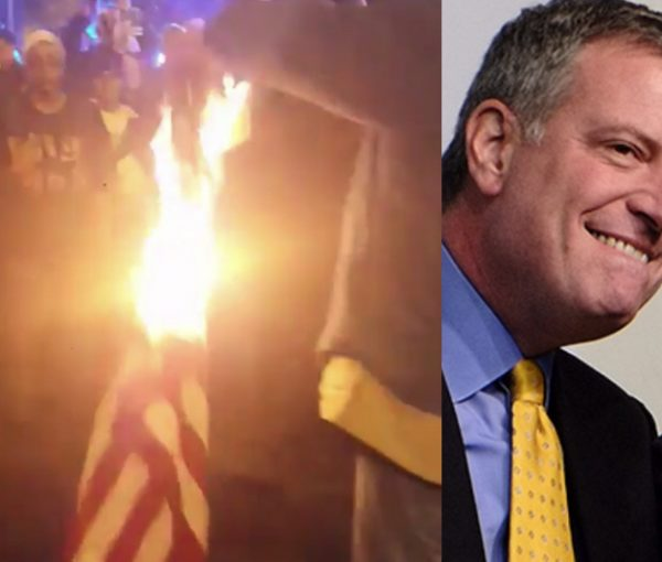 "Trump Tantrum: New York's Mayor Bill de Blasio Encourages More ""Peaceful"" Protests"